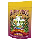 Fox Farm 752289500411 FoxFarm Happy Frog Japanese Maple Fertilizer 4 lb (12/Cs) Photo, best price $22.51 new 2020