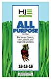 Howard Johnson 100507690 All Purpose Fertilizer 16-16-16 20lb, 20 lb, Brown/A Photo, best price $12.99 new 2019