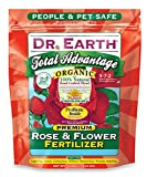 Dr. Earth 702P Organic 3 Rose & Flower Fertilizer in Poly Bag, 4-Pound Photo, best price $17.99 new 2018
