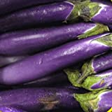 Everwilde Farms - 250 Long Purple Eggplant Seeds - Gold Vault Jumbo Seed Packet Photo, best price $2.50 new 2018