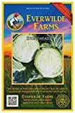 Everwilde Farms - 100 Stonehead Hybrid Cabbage Seeds - Gold Vault Jumbo Seed Packet Photo, best price $2.98 new 2019