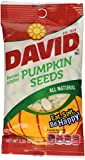 David All Natural Roasted & Salted Pumpkin Seeds 2.25 oz Photo, best price $4.88 new 2018