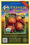 Everwilde Farms - 100 organic Golden Detriot Beet Seeds - Gold Vault Packet Photo, best price $2.98 new 2019