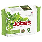 Jobe's Tree Fertilizer Spikes, 15-3-3 Time Release Fertilizer for All Shrubs & Trees, 9 Spikes per Package Photo, best price $7.99 new 2018