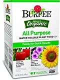 Burpee 99973 10 oz AP Organic All Purpose Water Soluble Plant Food, Brown Photo, best price $9.99 new 2019