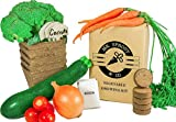 Mr. Sprout & Co Organic Vegetable Garden Kit - Vegetable Garden Seed Starter Kit for Kids, Adults Or Gift Idea- Includes Seeds for Cherry Tomatoes, Broccoli, Onions, Carrots, Zucchini Photo, best price $22.95 new 2019