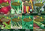 Heirloom Vegetable Seeds For Fall Planting - 8 BONUS Gardening eBooks - Organic, Non GMO, Open Pollinated Veggie Variety Garden Seed Packets - Beet Cabbage Carrot Kale Lettuce Onion Spinach Chard Pack Photo, best price $19.95 new 2019