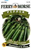 Ferry-Morse Pepper - Serrano Chili Seeds Photo, best price $4.61 new 2019
