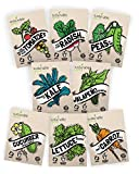 Vegetable Seeds Heirloom SillySeed Collection - 100% Non GMO. Veggie Garden Variety Pack: Tomato, Cucumber, Lettuce, Kale, Radish, Peas, Carrot, Jalapeno Pepper Photo, best price $15.95 new 2018