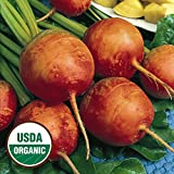 Everwilde Farms - 100 organic Golden Detriot Beet Seeds - Gold Vault Packet Photo, best price $2.50 new 2018