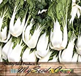 BIG PACK - (5,000) Chinese PAK CHOI Pak Choy Cabbage seeds - Mildly pungent and hardy in cool weather - Non-GMO Seeds by MySeeds.Co (BIG PACK - Pak Choy) Photo, best price $10.95 new 2018